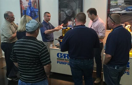 Gorman Rupp Pump Factory Trip Seminar. Gorman-Rupp is represented by Envirep in PA, MD, DE, VA and DC.