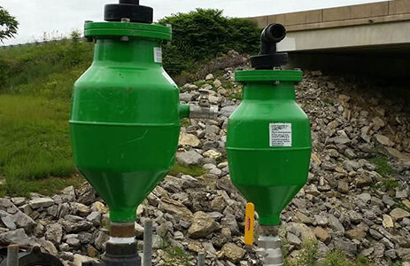 H-Tec Air Release Valves for sewage force mains. Envirep is the sales distributor in Pennsylvania, New Jersey, Maryland, and Delaware.