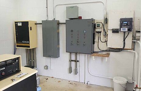 Gorman-Rupp Pump Station Control Panels. Envirep is the manufacturers rep in PA, MD, DE, VA, and DC.