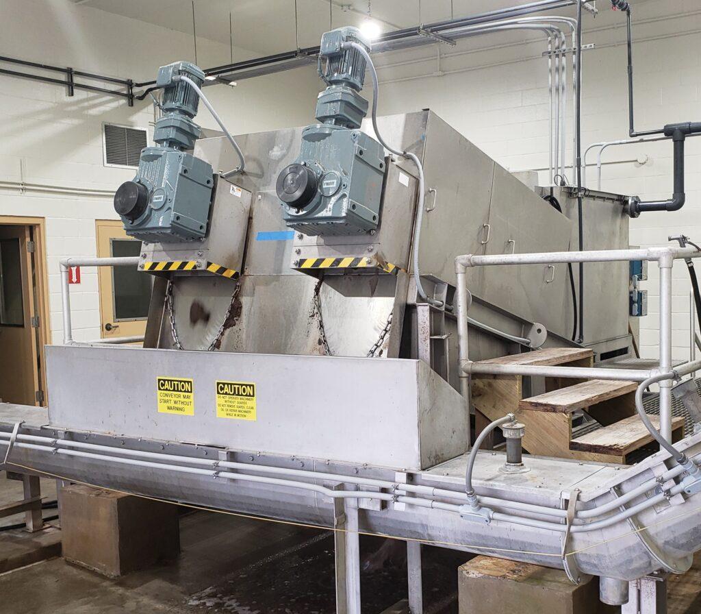 PW Tech Volute Dewatering Press