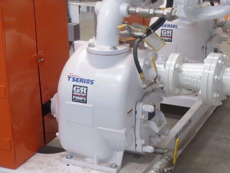 Gorman-Rupp T-Series Self Priming Pump. Envirep is the distributor in MD, PA, DE, VA and DC.